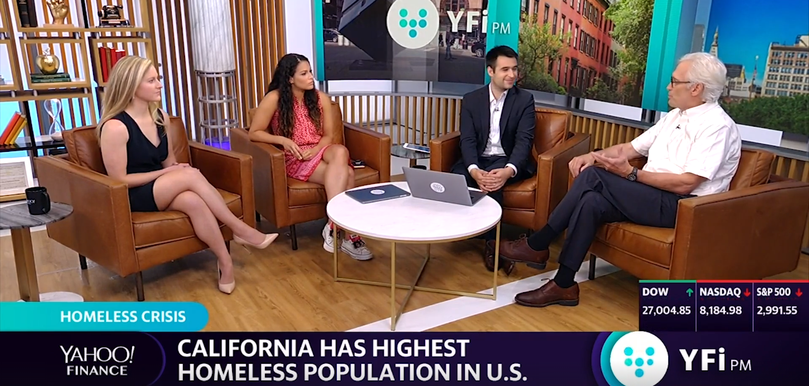 HELP USA President And CEO Tom Hameline On Yahoo! News